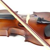 Close-up violin Royalty Free Stock Images