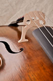 Close up of a violoncello Royalty Free Stock Photography