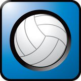 Close up of volleyball. Close up picture of a volleyball Stock Images