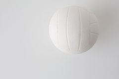 Close up of volleyball ball on white Stock Image