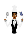 Close-up of waiter Royalty Free Stock Image