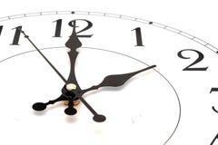 Close-up  wall clock Royalty Free Stock Image