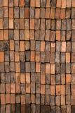 Stacked Bricks Texture. Close up of a wall made up of vertically stacked bricks Royalty Free Stock Photography