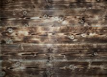 Close up of wall made of wooden planks. stock photos