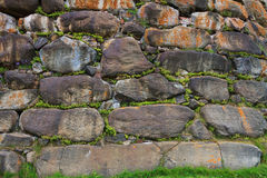 Close-up of the wall of Solovetsky monastery Stock Photo