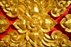 Close up wall in temple of Thailand. Close up beautiful wall in temple of Thailand Royalty Free Stock Image