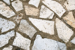 Close-up of wall texture. Stone is used as build material stock images