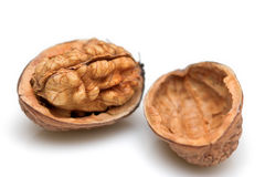 Close-up of a walnut Royalty Free Stock Images