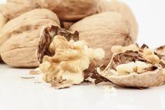 Close up walnuts Stock Photos
