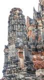 Close up Wat Chai Watthanaram. Ayutthaya Stock Image