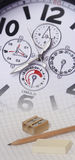 Close up of a watch dial Royalty Free Stock Photo