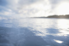 Close-up of water at the beach Stock Photography