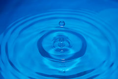 Close up water drop Royalty Free Stock Photography