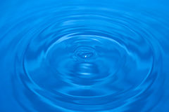 Close up water drop Royalty Free Stock Image