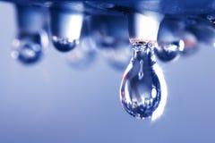 Close up water drop Stock Image