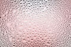 Close up of a water drops royalty free illustration
