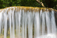 Close up water falls Royalty Free Stock Images