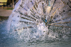 Close up of a water fountain, selective focus. Close up photo of a water fountain, selective focus Stock Images