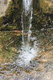 Close up of water gushing Stock Image