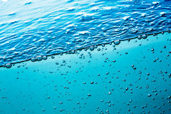 Close up water Royalty Free Stock Photo