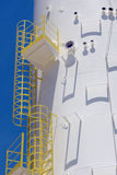Close-up of water tower under construction Stock Images