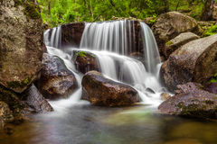 Close-up of a waterfall Stock Photography