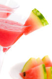 Close Up Watermelon Drinks Royalty Free Stock Photos