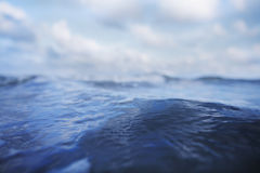 Close-up of wave in the ocean Stock Image