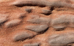 Close up of weathered sandstone block in a wall Stock Photos