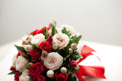Close up of wedding bouquet Royalty Free Stock Image