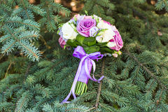 Close up of wedding bouquet Royalty Free Stock Images