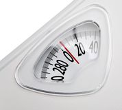 Close-up of a weighing scale Stock Images