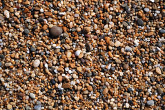 Close-up of wet fine pebbles Royalty Free Stock Images