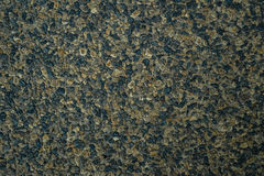 Close up wet sand wash surface floor background in shades of gre Stock Image