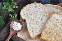 Close up wheat bread Stock Photo