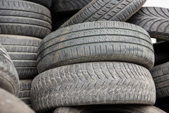 Close up of wheel tires royalty free stock photography