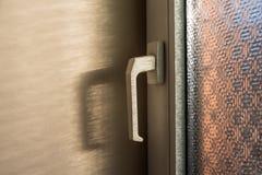 Close-up of white doorknob Royalty Free Stock Image
