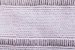 Close up White Flax Cloth Stock Image