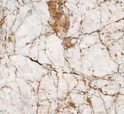 Close-up of white marble Stock Photography