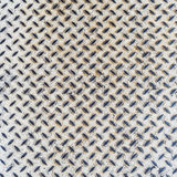 Close up white metal floor texture background Royalty Free Stock Photos