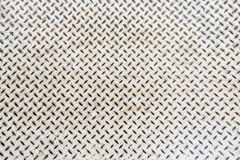Close up white metal floor texture background detail Stock Photo