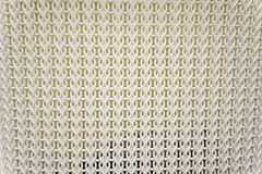 Close up white plastic woven texture background stock photos