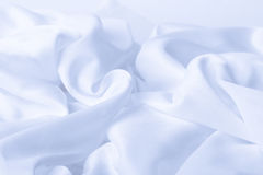 Close up of white silk Stock Images