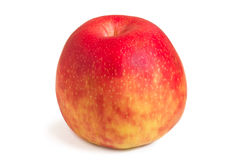 Close-up of a whole red apple Royalty Free Stock Photo