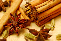 Close-up of whole spice Royalty Free Stock Image
