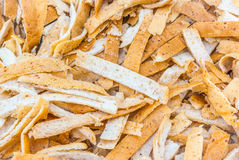 Close up of whole wheat slice Royalty Free Stock Photos