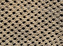 Close-up Wicker basket For decoration texture royalty free stock photography