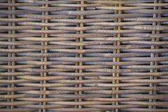 Close-up of a wicker basket pattern Royalty Free Stock Photo
