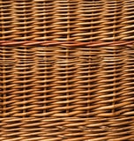 Close Up of Wicker basket weave Royalty Free Stock Photos