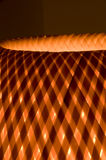 Close Up of Wicker Lamp Royalty Free Stock Photography